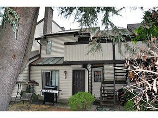 "Photo 1: 10 2880 OXFORD Street in Port Coquitlam: Glenwood PQ Townhouse for sale in ""OXFORD GARDENS"" : MLS®# V1134143"
