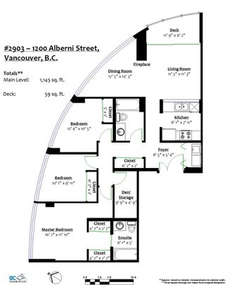"Photo 20: 2903 1200 ALBERNI Street in Vancouver: West End VW Condo for sale in ""The Palisades"" (Vancouver West)  : MLS®# R2287519"