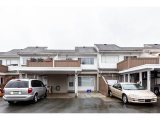 "Main Photo: 3061 268 Street in Langley: Aldergrove Langley Townhouse for sale in ""Bakerview Estates"" : MLS®# R2329441"
