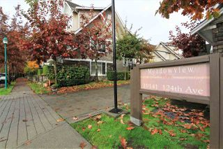 "Photo 16: 18 19141 124 Avenue in Pitt Meadows: Mid Meadows Townhouse for sale in ""MEADOWVIEW ESTATES"" : MLS®# R2335266"