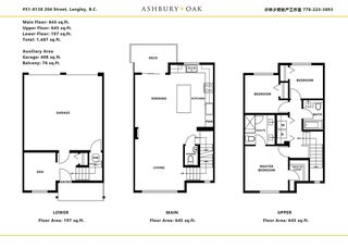 """Photo 16: 51 8138 204 Street in Langley: Willoughby Heights Townhouse for sale in """"ASHBURY & OAK"""" : MLS®# R2386662"""