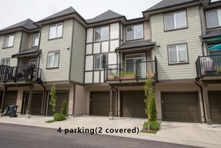 """Photo 1: 51 8138 204 Street in Langley: Willoughby Heights Townhouse for sale in """"ASHBURY & OAK"""" : MLS®# R2386662"""