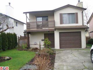 "Photo 1: 2921 BABICH Street in Abbotsford: Central Abbotsford House for sale in ""CENTRAL ABBOTSFORD"" : MLS®# F1200663"