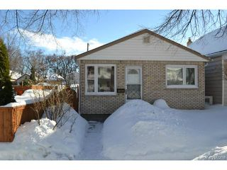Main Photo: 428 Arnold Avenue in WINNIPEG: Fort Rouge Residential for sale (South Winnipeg)  : MLS®# 1403604