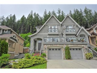 "Photo 1: 147 FERNWAY Drive in Port Moody: Heritage Woods PM 1/2 Duplex for sale in ""ECHO RIDGE"" : MLS®# V1070307"