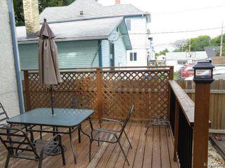 Photo 14: 709 Goulding Street in WINNIPEG: West End / Wolseley Residential for sale (West Winnipeg)  : MLS®# 1422590
