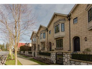 "Photo 1: 629 2580 LANGDON Street in Abbotsford: Abbotsford West Townhouse for sale in ""Brownstones"" : MLS®# F1433770"