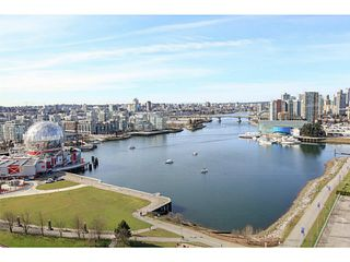 "Photo 1: 2206 120 MILROSS Avenue in Vancouver: Mount Pleasant VE Condo for sale in ""THE BRIGHTON"" (Vancouver East)  : MLS®# V1108623"