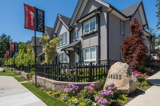 "Photo 1: 100 14555 68 Avenue in Surrey: East Newton Townhouse for sale in ""SYNC"" : MLS®# R2169561"