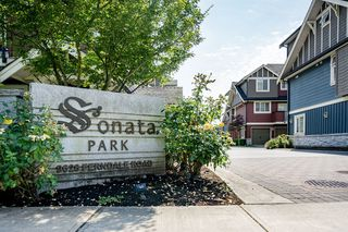 "Main Photo: 17 9628 FERNDALE Road in Richmond: McLennan North Townhouse for sale in ""SONATA PARK"" : MLS®# R2197153"