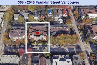 Photo 19: 306 2045 FRANKLIN Street in Vancouver: Hastings Condo for sale (Vancouver East)  : MLS®# R2286032