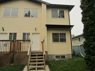 Main Photo: 4806 117 Avenue in Edmonton: Zone 23 House Half Duplex for sale : MLS®# E4125641