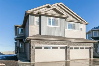Main Photo: 7484 CREIGHTON Place in Edmonton: Zone 55 House Half Duplex for sale : MLS®# E4137370