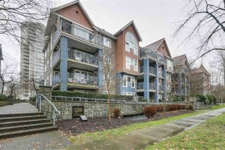 """Photo 1: 206 1200 EASTWOOD Street in Coquitlam: North Coquitlam Condo for sale in """"LAKESIDE TERRACE"""" : MLS®# R2334892"""