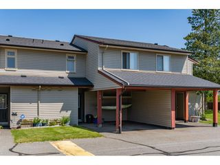 "Main Photo: 54 27456 32 Avenue in Langley: Aldergrove Langley Townhouse for sale in ""Cedar Park Estates"" : MLS®# R2372321"
