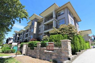 "Photo 1: 409 12238 224 Street in Maple Ridge: East Central Condo for sale in ""URBANO"" : MLS®# R2378910"