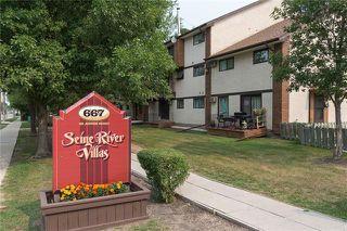 Photo 1: 1 667 St Anne's Road in Winnipeg: St Vital Condominium for sale (2E)  : MLS®# 202027613