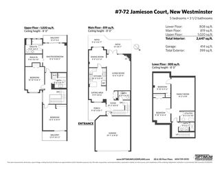 """Photo 35: 7 72 JAMIESON Court in New Westminster: Fraserview NW Townhouse for sale in """"Green"""" : MLS®# R2525668"""