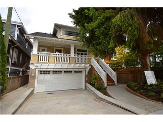 Photo 1: 3541 W 8TH Avenue in Vancouver: Kitsilano House 1/2 Duplex for sale (Vancouver West)  : MLS®# V900175