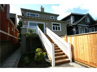 Photo 10: 3541 W 8TH Avenue in Vancouver: Kitsilano House 1/2 Duplex for sale (Vancouver West)  : MLS®# V900175