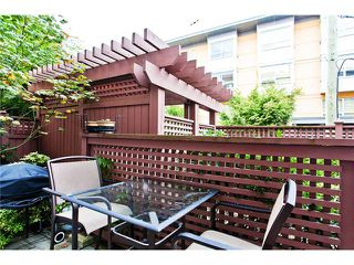 """Photo 6: 110 2688 WATSON Street in Vancouver: Mount Pleasant VE Townhouse for sale in """"TALA VERA"""" (Vancouver East)  : MLS®# V911021"""