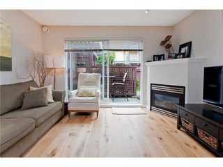 """Photo 2: 110 2688 WATSON Street in Vancouver: Mount Pleasant VE Townhouse for sale in """"TALA VERA"""" (Vancouver East)  : MLS®# V911021"""