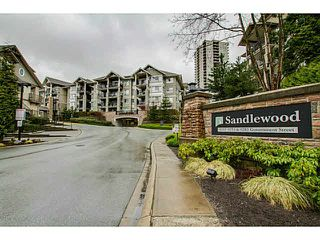 """Main Photo: 313 9233 GOVERNMENT Street in Burnaby: Government Road Condo for sale in """"SANDLEWOOD"""" (Burnaby North)  : MLS®# V1086933"""