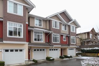 "Photo 1: 69 19455 65 Avenue in Surrey: Clayton Townhouse for sale in ""TWO BLUE"" (Cloverdale)  : MLS®# R2144536"