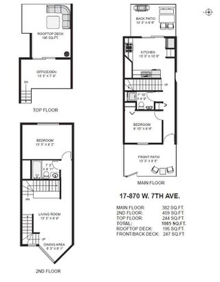 """Photo 16: 17 870 W 7TH Avenue in Vancouver: Fairview VW Townhouse for sale in """"Laurel Court"""" (Vancouver West)  : MLS®# R2210150"""