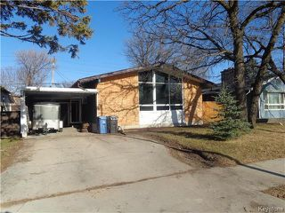 Photo 1: 367 Wallasey Street in Winnipeg: Residential for sale (5F)  : MLS®# 1809224