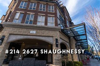 "Photo 1: 214 2627 SHAUGHNESSY Street in Port Coquitlam: Central Pt Coquitlam Condo for sale in ""Villagio"" : MLS®# R2353793"