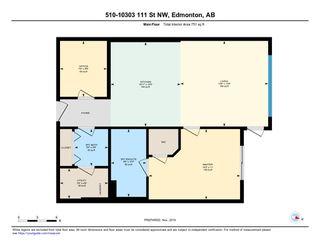 Photo 50: 510 10303 111 Street in Edmonton: Zone 12 Condo for sale : MLS®# E4179862