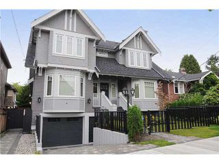 Photo 1: 2517 W 7TH Avenue in Vancouver: Kitsilano Townhouse for sale (Vancouver West)  : MLS®# V924483