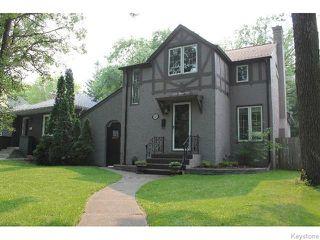 Photo 1: 349 Borebank Street in WINNIPEG: River Heights / Tuxedo / Linden Woods Residential for sale (South Winnipeg)  : MLS®# 1518387