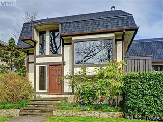 Photo 1: 6 1464 Fort Street in VICTORIA: Vi Fernwood Townhouse for sale (Victoria)  : MLS®# 376506