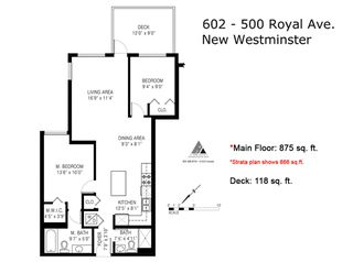 "Photo 19: 602 500 ROYAL Avenue in New Westminster: Downtown NW Condo for sale in ""Dominion"" : MLS®# R2169083"