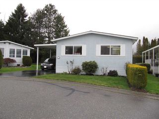 "Photo 1: 14 2120 KING GEORGE Boulevard in Surrey: King George Corridor Manufactured Home for sale in ""FIVE OAKS"" (South Surrey White Rock)  : MLS®# R2240131"
