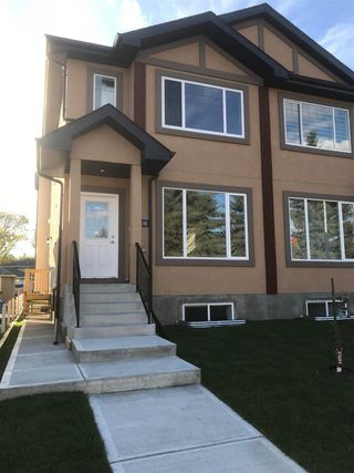 Main Photo: 10416 79 Street in Edmonton: Zone 19 House Half Duplex for sale : MLS®# E4122581