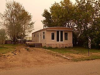 Main Photo: 4402 Park Crescent: Coronation Manufactured Home for sale : MLS®# E4127749