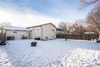 Photo 20: 96 Fernleaf Drive in Winnipeg: Bright Oaks Residential for sale (2C)  : MLS®# 1831678