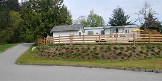 "Photo 1: 11 43201 LOUGHEED Highway in Mission: Lake Errock Manufactured Home for sale in ""NICOMEN TRAILER PARK"" : MLS®# R2362897"