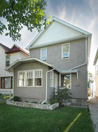Main Photo: 554 BEVERLEY ST in Winnipeg: Residential for sale (West End)  : MLS®# 1014472