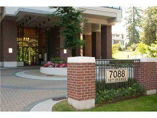 Main Photo: # 1706 7088 18TH AV in : Edmonds BE Condo for sale : MLS®# V908070