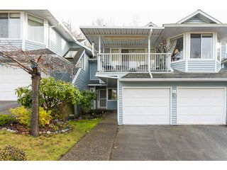 "Photo 1: 124 22555 116TH Avenue in Maple Ridge: East Central Townhouse for sale in ""FRASER VIEW VILLAGE"" : MLS®# V1062941"