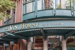 "Photo 2: 301 22 E CORDOVA Street in Vancouver: Downtown VE Condo for sale in ""THE VAN HORNE"" (Vancouver East)  : MLS®# R2085018"