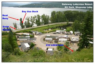 Photo 1: Lot 32 2633 Squilax-Anglemont Road in Scotch Creek: Gateway RV Park House for sale : MLS®# 10136378