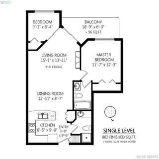 Photo 20: 404 821 Goldstream Avenue in VICTORIA: La Langford Proper Condo Apartment for sale (Langford)  : MLS®# 388474