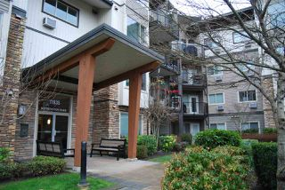 "Main Photo: 317 11935 BURNETT Street in Maple Ridge: East Central Condo for sale in ""KENSINGTON PLACE"" : MLS®# R2332774"