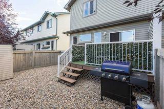 Photo 36: 17 6304 SANDIN Way in Edmonton: Zone 14 House Half Duplex for sale : MLS®# E4214065
