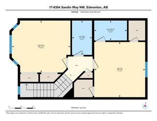 Photo 40: 17 6304 SANDIN Way in Edmonton: Zone 14 House Half Duplex for sale : MLS®# E4214065